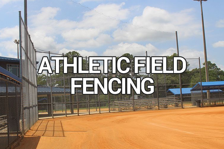 athletic field commercial fencing
