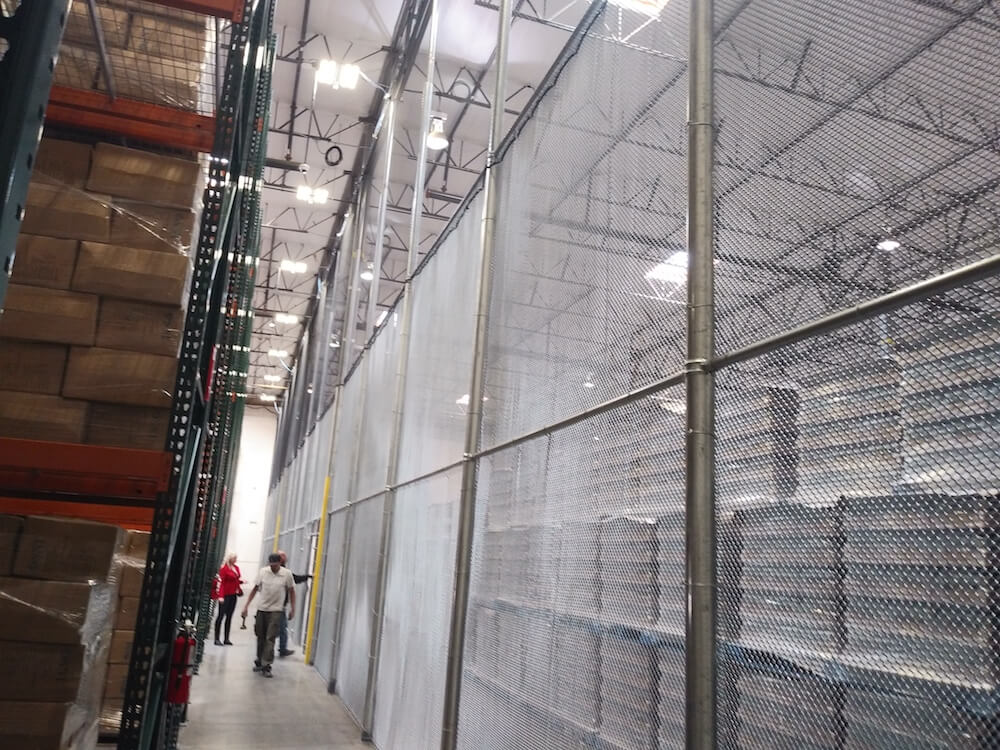 warehouse partitions